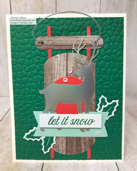 This month the Paper Pumpkin kit from Stampin' Up! was all about Tags; I took the tags and turned them into cards. Details on my blog here: https://wp.me/p59VWq-azu #stampinup #thestampcamp #paperpumpkin
