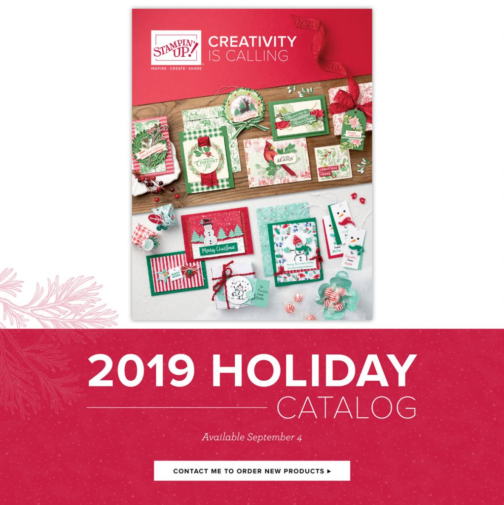 Final days of the Holiday Mini catalog from Stampin' Up! Mini ends January 2, 2020. Details are on my blog here: https://wp.me/p59VWq-aF6