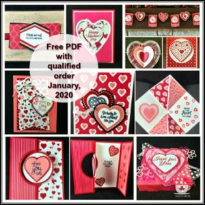 The Heartfelt Bundle from Stampin' Up! has everything you need to create fun Valentine projects and cards. Details on my blog here: https://wp.me/p59VWq-aFw #stampinup #Valentines #Heartfelt #thestampcamp