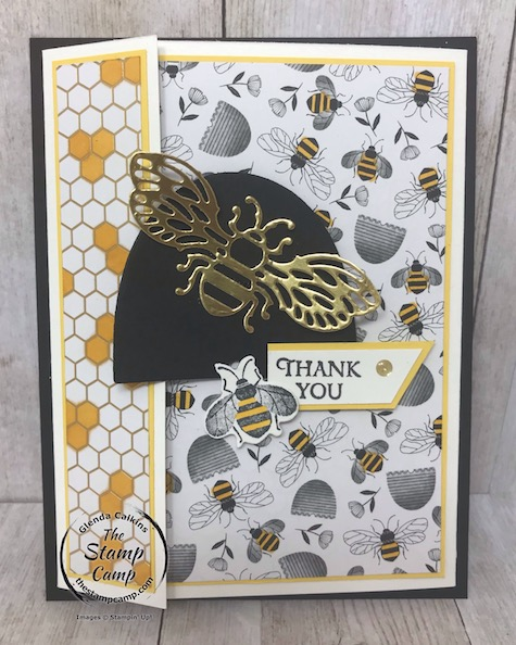 Day 2 Honey Bee Bundle & Golden Honey DSP