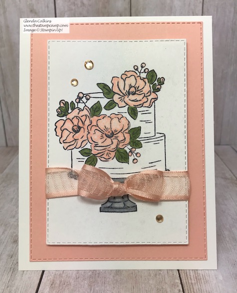 This is the FREE Happy Birthday to You Stamp Set from Stampin' Up! It is a FREE Sale-a-bration stamp set available when you place a min. $50.00 order before shipping and tax. Details can be found on my blog here: https://wp.me/p59VWq-aGC #stampinup #thestampcamp #saleabration2020