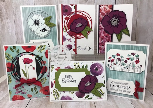 The Peaceful Poppies Paper Scraps are the perfect pairing with the Note cards and envelopes. Details on my blog here: https://wp.me/p59VWq-aMw #stampinup #thestampcamp #poppies #saleabration