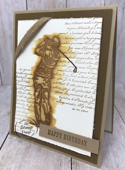 The Clubhouse bundle is from the mini catalog and makes great masculine cards for many different occasions. Details can be found on my blog here: https://wp.me/p59VWq-aQf #stampinup #clubhouse #masculine #birthday