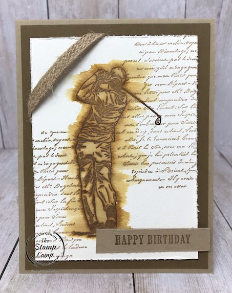 Masculine Birthday Card featuring Clubhouse