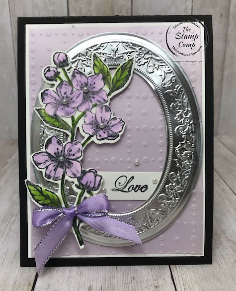 Mirror Framed Forever Blossoms Bundle