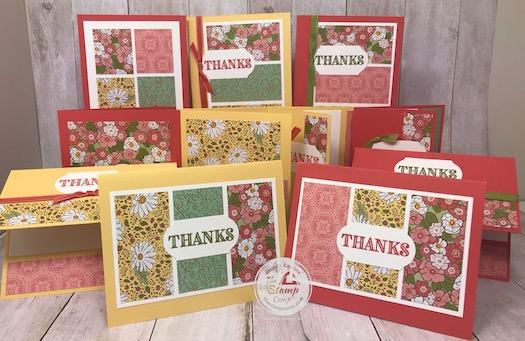 Ornate Garden Designer Paper 11 Cards in a Snap!