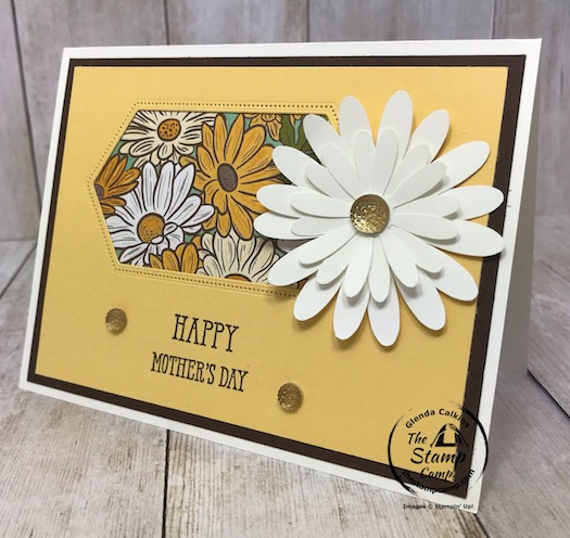 A little Peek-a-boo window to see the beautiful Ornate Garden Specialty designer series paper. Details are on my blog here: https://wp.me/p59VWq-aYK. #stampinup #ornategarden #thestampcamp #technique
