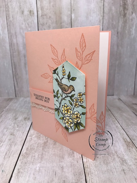 I'm sure going to miss the Bird Ballad Designer Series Paper; how about you? Make sure to place your order for this gorgeous paper soon as it will no longer be available to order come June 3rd. Details are on my blog here: https://wp.me/p59VWq-aZQ #stampinup #birdballad #thestampcamp #freeasabird