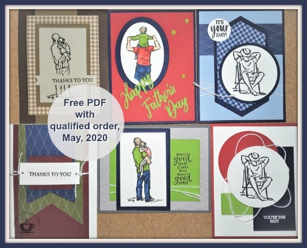 May Customer Appreciation PDF file free with a min. $40.00 order and must use this hostess code: YMGCZMT4 . Details are on my blog here: https://wp.me/p59VWq-aXH #stampinup #thestampcamp