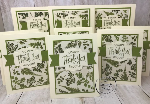 Pressed Petals Designer Paper Thank You Cards