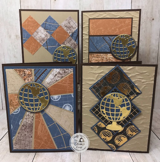 This month's Featured Stamp Set Bundle is the Beautiful World Bundle with perfect sentiments for what is going on in the world right now. This is the perfect stamp set for masculine cards for any and all occasions. Details are on my blog here: https://wp.me/p59VWq-bgc #stampinup #thestampcamp #beautifulworld #masculine