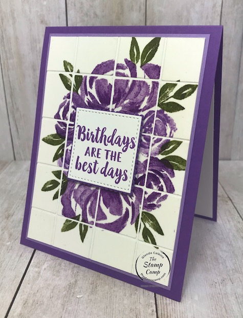 How about a fun and different technique using the Best Plaid Builder Dies? How about the Faux Tile technique. With the Best Plaid Builder dies you can create the perfect tiles every time. Details are on my blog: https://wp.me/p59VWq-biV #stampinup #thestampcamp #bestplaiddies #plaid