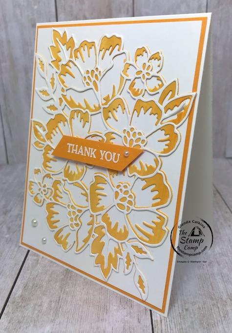I'm having so much fun with the Blossoms in Bloom Bundle with all different techniques. During my Mystery Party I demonstrated the Baby Wipe technique with this bundle and how you can do it in different ways. This was one I did before the party but chose to go with different color combinations for the actual party. Details are on my blog here: https://wp.me/p59VWq-blA. #stampinup #thestampcamp #technique #blossomsinbloom
