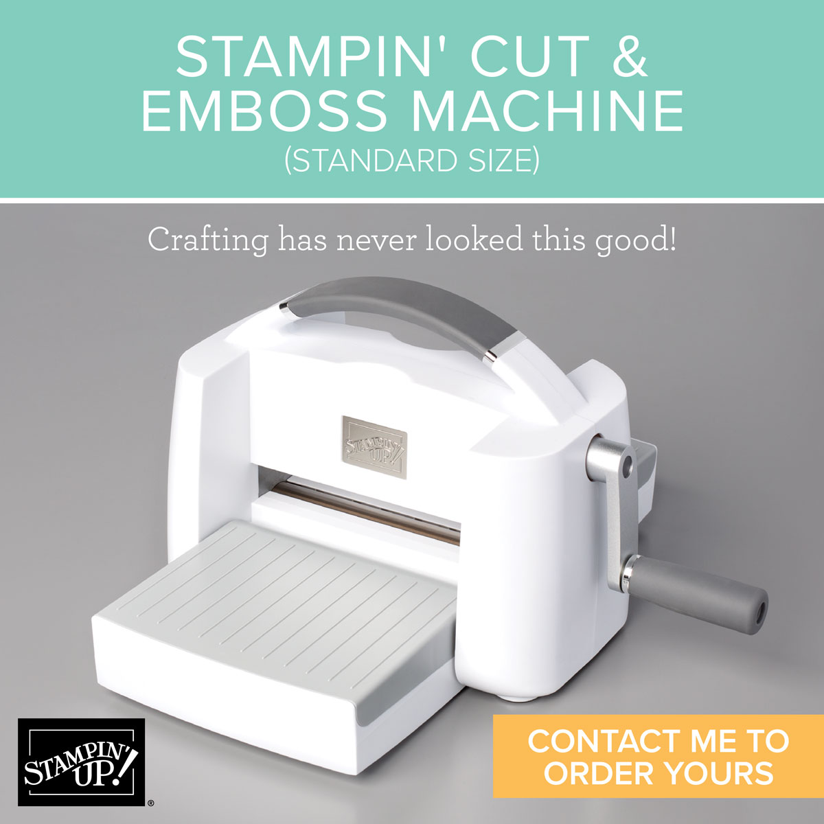 New Cut and Emboss MAchine available to order today! September 1, 2020 - Details on my blog here: https://wp.me/p59VWq-bri