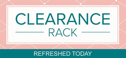 Clearance Rack items have been added. Details are on my blog here: https://wp.me/p59VWq-bri