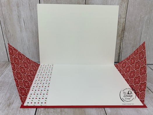 Today for Fun Fold Friday I have a Double Front Flip Up Card at least that's what I'm calling it. It has a secret way of opening that may have your recipients thinking. Details and video is on my blog here: https://wp.me/p59VWq-bx7. #stampinup #thestampcamp #funfold