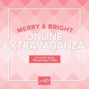 Today's The Day - Online Extravaganza Sale!