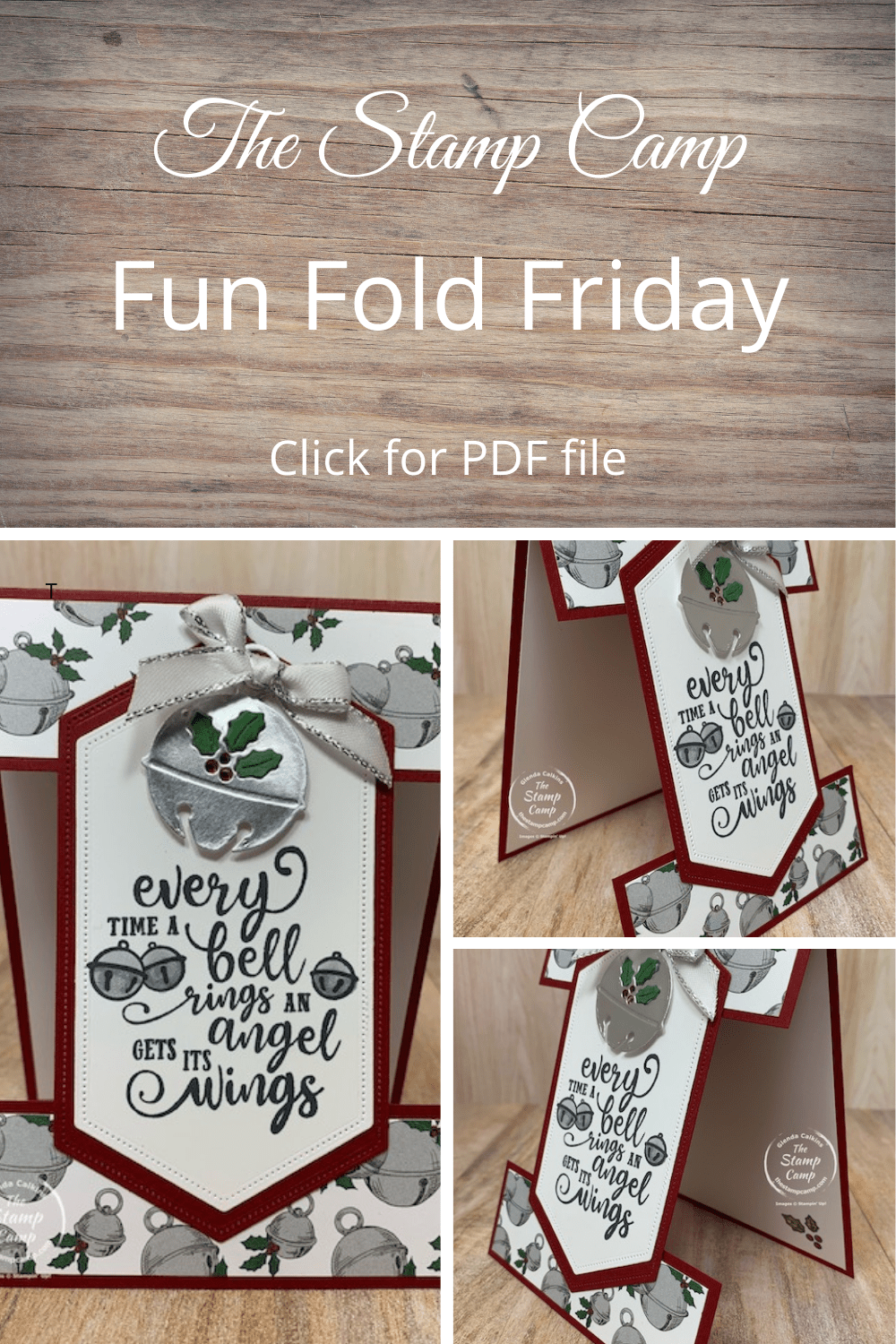 Today's Fun Fold Friday card features the Christmas Means More stamp set. Oh the memories I have with the sentiments in this stamp set. All my kids favorite movies are featured in this sentiment. I'm not sure what you call this fun fold but it is fun! #stampinup #thestampcamp #glendasblog #christmas #funfold