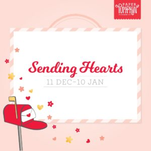 Sending Hearts January Paper Pumpkin Kit