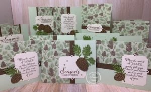 Do you enjoy One Sheet Wonders? Grab a 12 x 12 sheet of designer series paper and join me to see how you can take that 1 sheet and turn it into 12 cards. A simple layout that you are going to love! #thestampcamp #stampinup #onesheetwonder