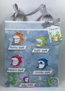 Make It Monday - Baby Shark Gift Bag and Tag