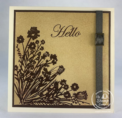 January 5 - February 2021 is Sale-a-bration and with that for every $50 order you will receive a FREE Sale-a-bration product. This is just one of the fun FREE products you can get during this Sale-a-bration season. This is the Corner Bouquet stamp set. #thestampcamp #stampinup #saleabration