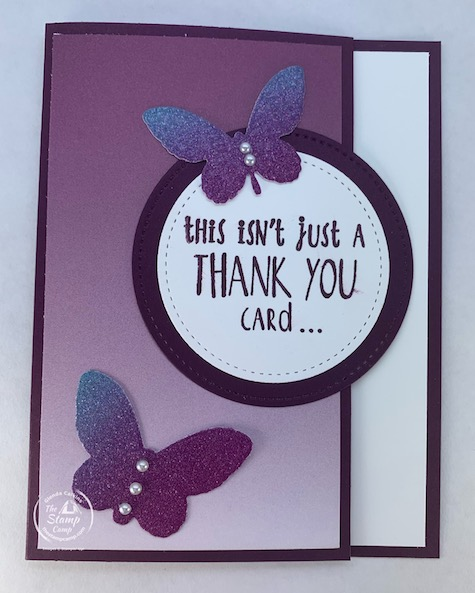 The Sale-a-bration Oh So Ombre Designer Series Papers are Oh So Pretty and better yet they are FREE with a min. $50.00 order! We all love FREE! Shop Today #thestampcamp #stampinup #saleabration