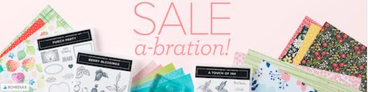 Sale-a-bration Begins Today January 5 - February 28 2021. With every $50.00 order you get a FREE Sale-a-bration item or Sign on to become a Stampin' Up! demonstrator and receive an awesome bundle of products and other perks. #thestampcamp #stampinup #saleabration