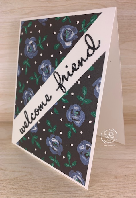 Would you like the look of heat embossing but quicker and easier way of doing it? Look no further! I have the perfect faux Heat Embossing technique to show to you. #thestampcamp #stampinup #technique